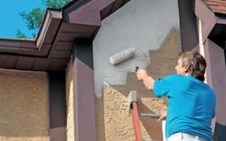 Покраска фасада: ремонт и окраска стен фасада дома снаружи
