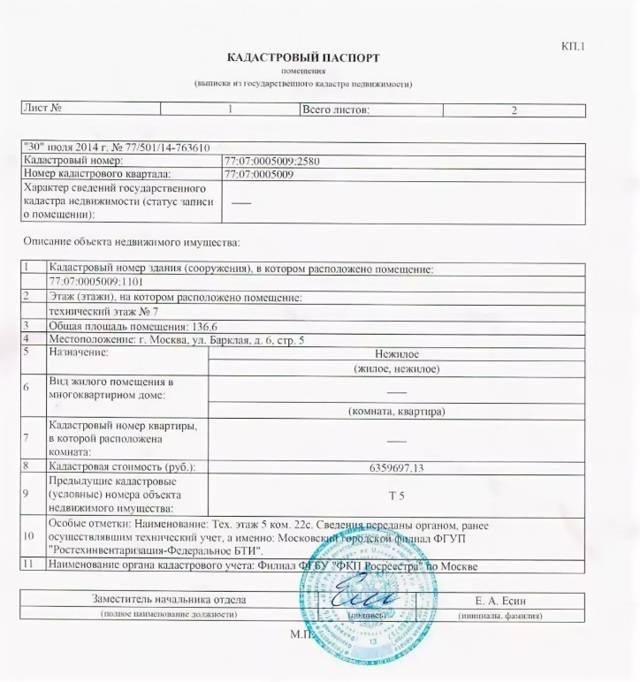 Срок действия кадастрового паспорта на земельный участок
