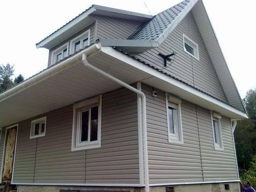 Фасадные панели деке (docke): монтаж для наружной отделки дома