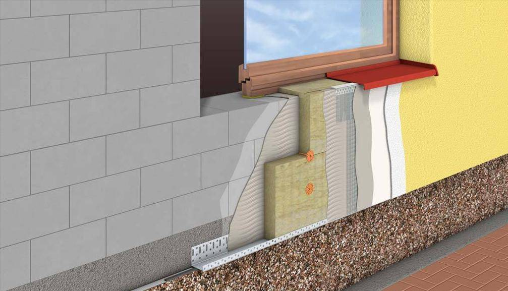 Штукатурка по пеноплексу: как штукатурить снаружи и внутри помещения, какая отделка лучше, можно ли покрасить утепленный фасад, а также поэтапная технология оштукатуривания