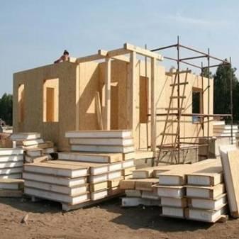 Как строится баня из сип панелей