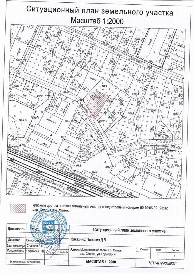 Межевой план земельного участка: где получить, образец заполнения