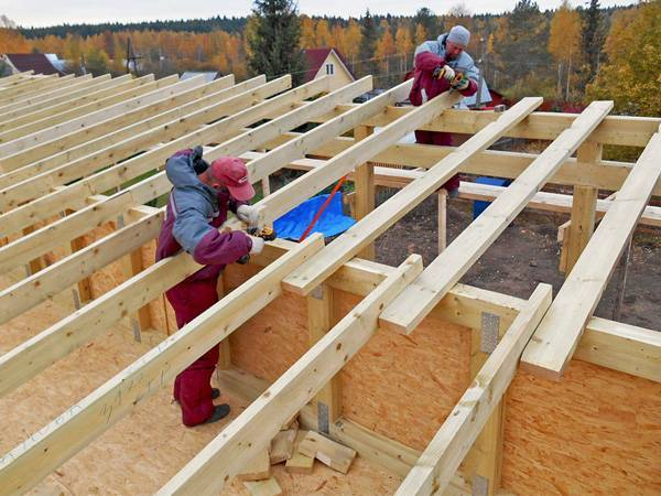 Односкатная крыша своими руками чертежи и фото пошаговая инструкция - все о строительстве, инструментах и товарах для дома