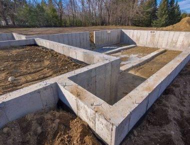 Как рассчитать стоимость заливки фундамента под дом и методы экономии - построй дом сам