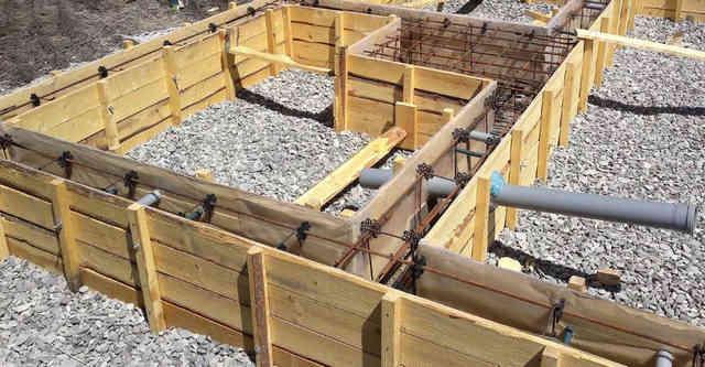 Мелкозаглубленный ленточный фундамент на глине: плюсы основания, инструкция по строительству, нюансы гидроизоляции