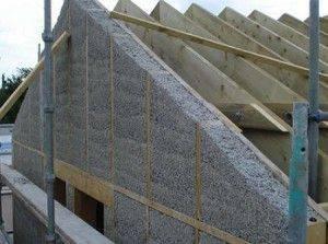 Как рассчитать площать и высоту фронтона крыши — фото, видео