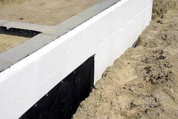 Мелкозаглубленный ленточный фундамент для каркасного дома: пошаговая инструкция и технология монтажа своими руками
