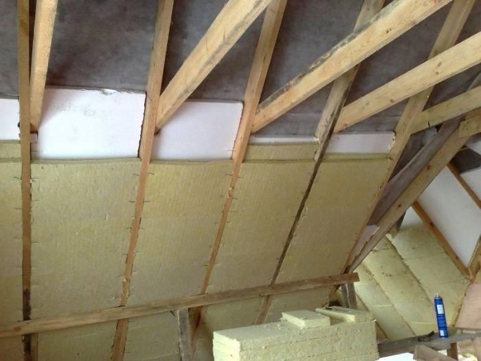 Утепление мансардной крыши изнутри своими руками - клуб мастеров