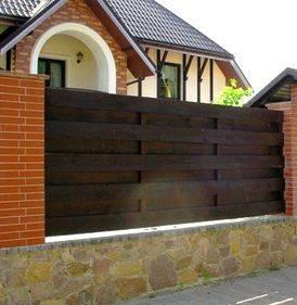 Заборы из профлиста с кирпичными столбами в москве под ключ: цена, характеристики, фото, расчет стоимости строительства