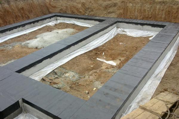 Гидроизоляция фундамента своими руками, когда дом уже построен