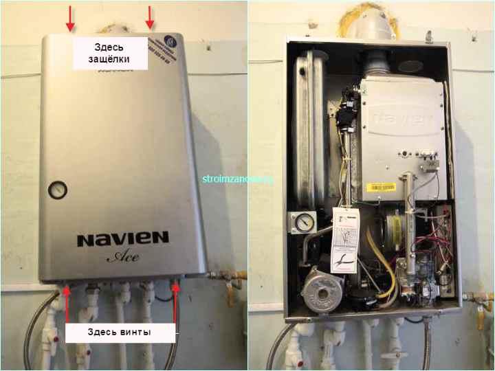 Газовый котел navien deluxe 16k coaxial plus: ткехнические характеристики, инструкция по подключению, а так же отзывы владельцев