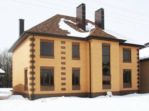Облицовочный кирпич для фасада: 70 комфортных и стильных идей