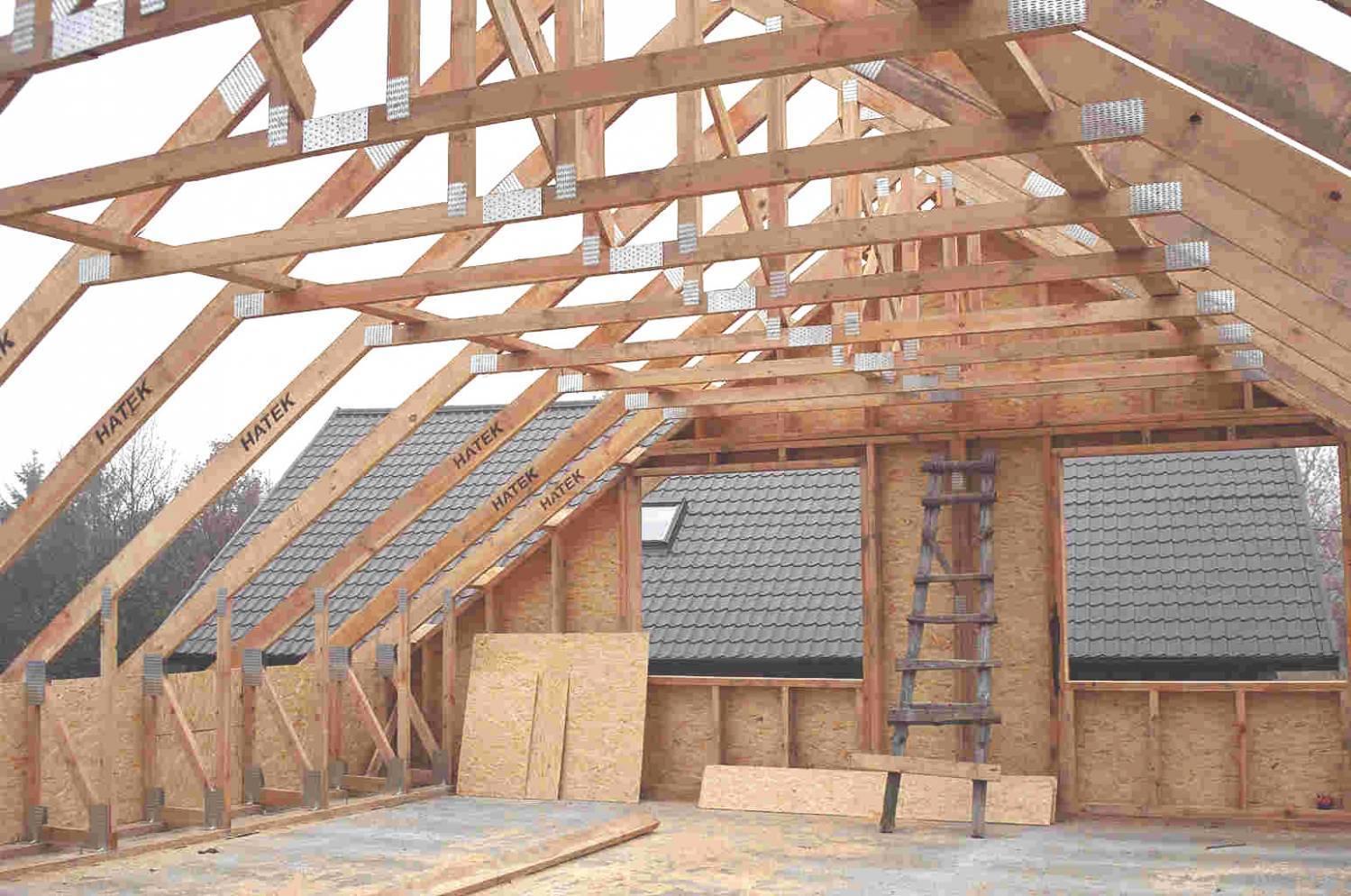 Многощипцовая крыша своими руками - как построить +схемы