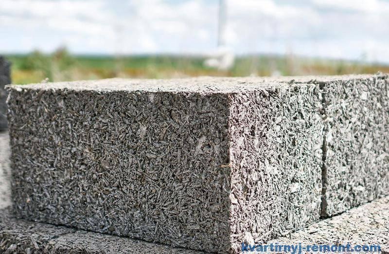 Особенности конструкции бани из арболитовых блоков