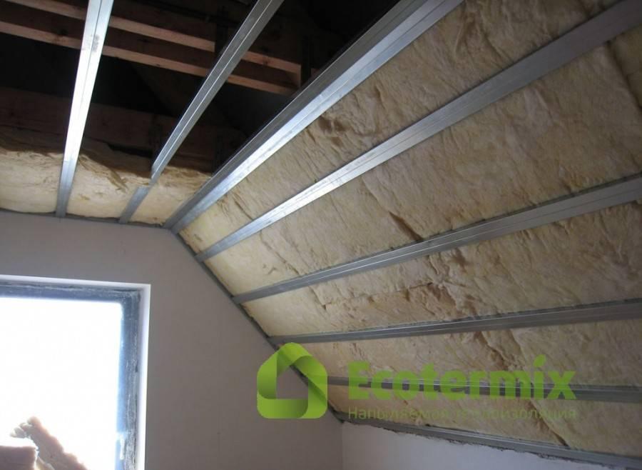 Правильное утепление крыши минватой, опилками, полистиролом, эковатой, керамзитом, подробно на видео и фото