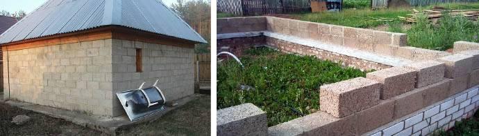 Баня из шлакоблока своими руками; этапы возведения; тонкости постройки строительство и ремонт бани