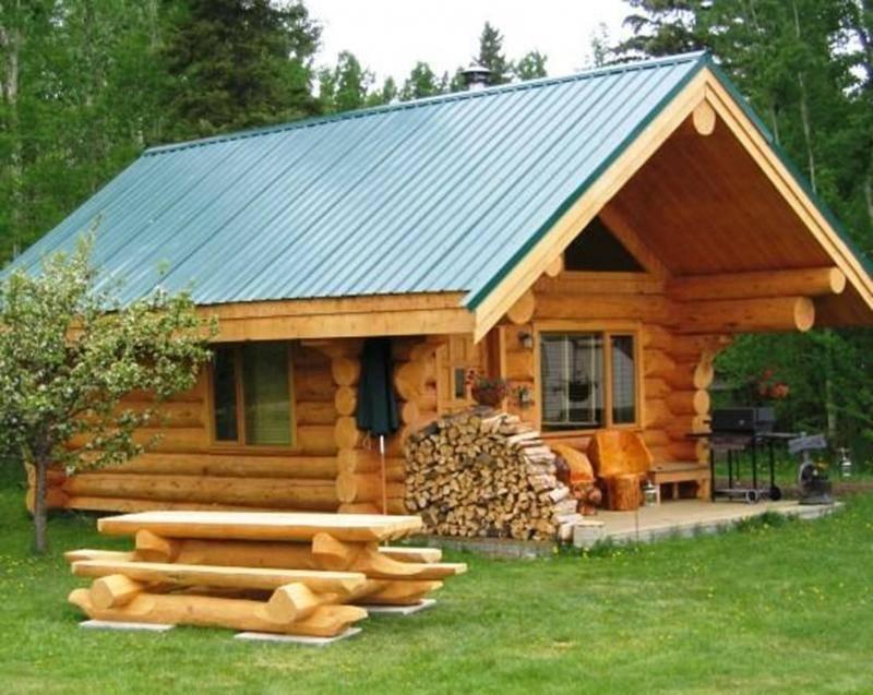 Баня с односкатной крышей: искусство компромиса