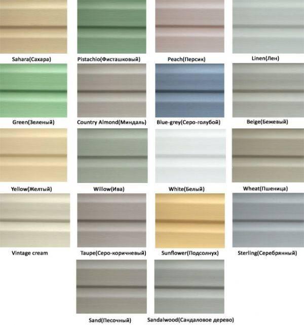 Виниловый или металлический сайдинг – какой выбрать, сравнение с деревянным, а также расчет стоимости сайдинга на дом