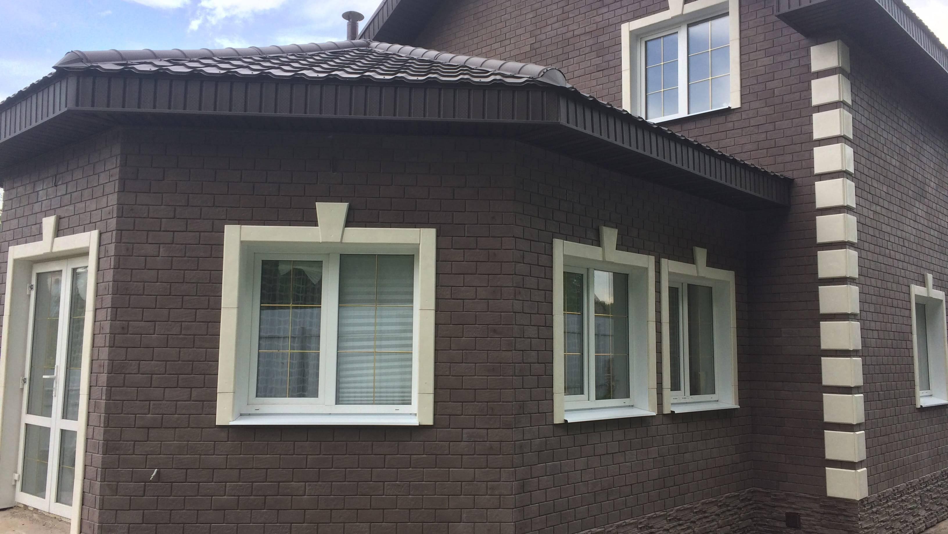 Основные виды клинкерной плитки для фасада, достоинства и недостатки + монтаж установочной планки и укладка плитки