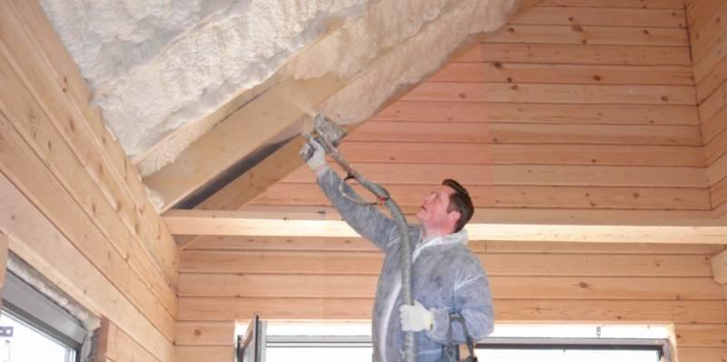 Утепление крыши дома: защита от холодов изнутри своими руками
