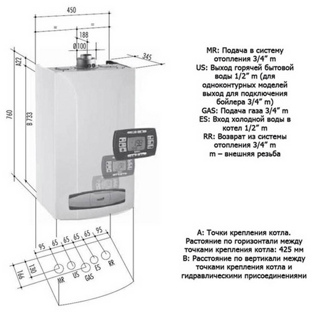 Газовые котлы baxi: напольные и настенные, инструкция по эксплуатации и подключению