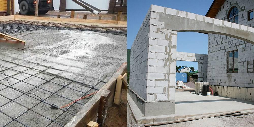 Фундамент из дорожных плит: преимущества, недостатки и монтаж