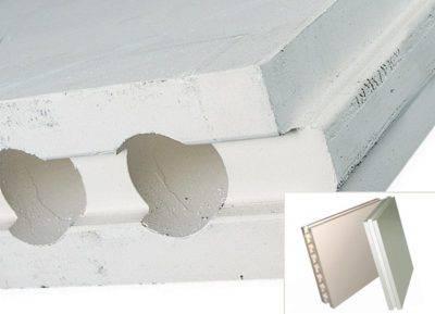 Гипсовые пазогребневые плиты: пустотелые блоки для перегородок 667x500x80 мм и полнотелая гипсоплита для стен, другие варианты