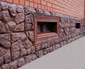 Облицовка цоколя дома своими руками - фото примеров