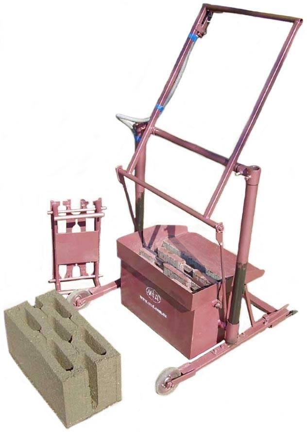 Самодельный станок для производства строительных блоков своими руками