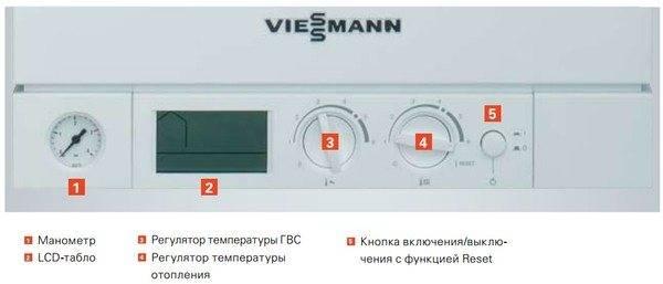 Немецкие газовые конденсационные котлы viessmann (висман)