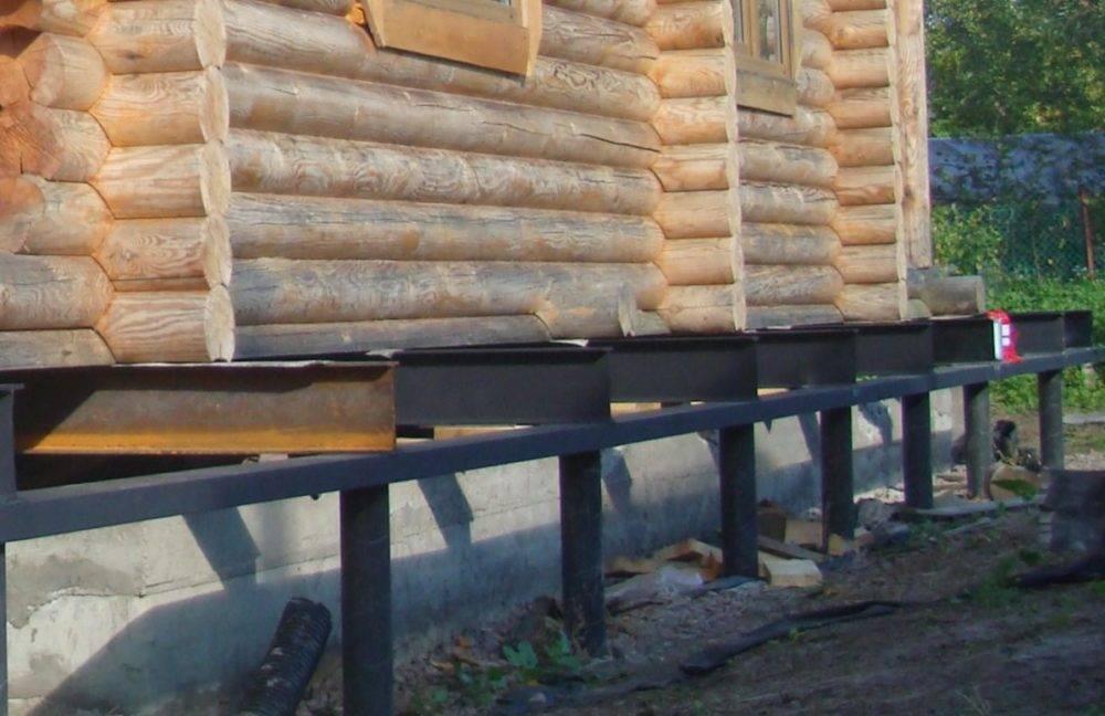 Замена фундамента под деревянным домом своими руками: основные этапы работы