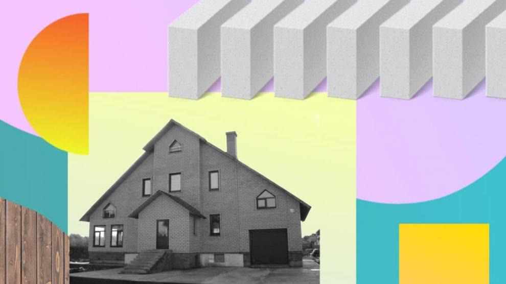 Из чего сделать цоколь дома: советы, из чего делают (брус, бревна и т.д.), из чего лучше не строить, чем недорого выложить цокольный этаж частного строения