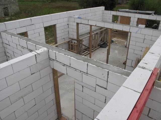 Армирование газобетонных блоков - строительные инновации