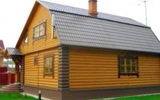 Обшивка дома блок хаусом своими руками