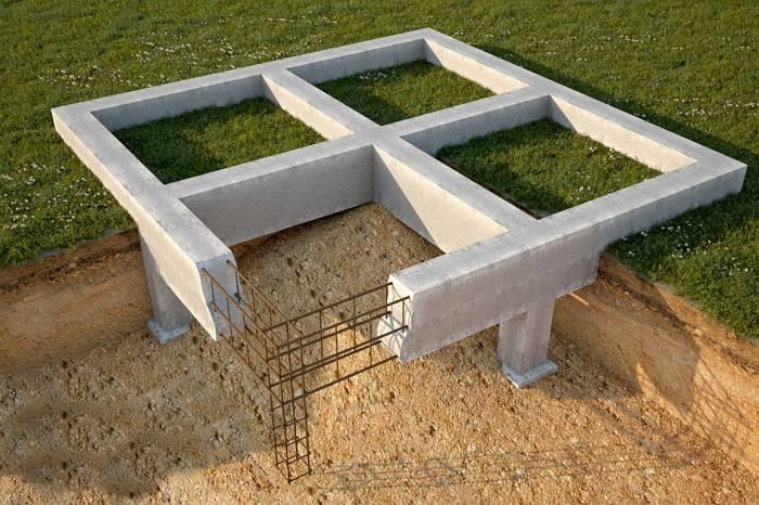 Как залить фундамент под гараж?
