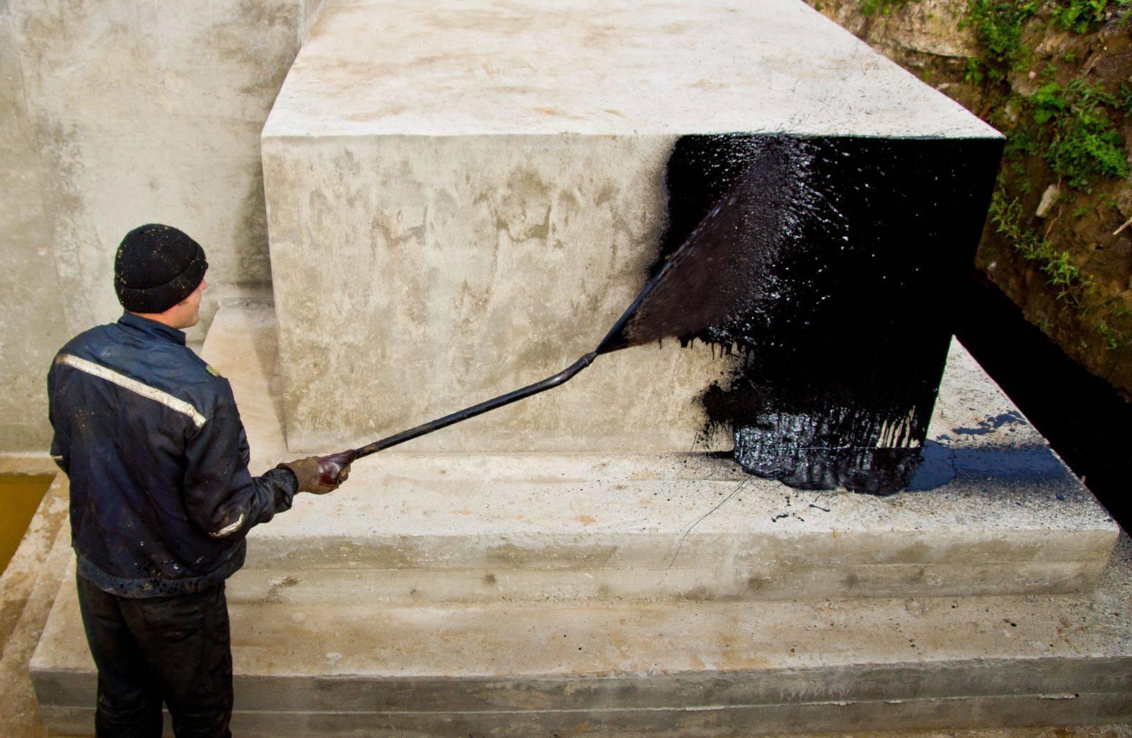 Проникающая гидроизоляция – нанесение, материалы