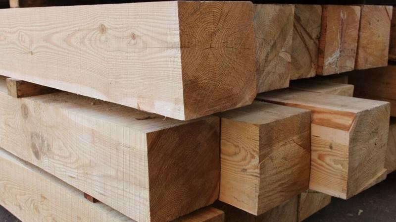 Экологичный и прочный материал — брус из лиственницы
