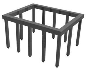 Свайный фундамент своими руками - устройство и установка