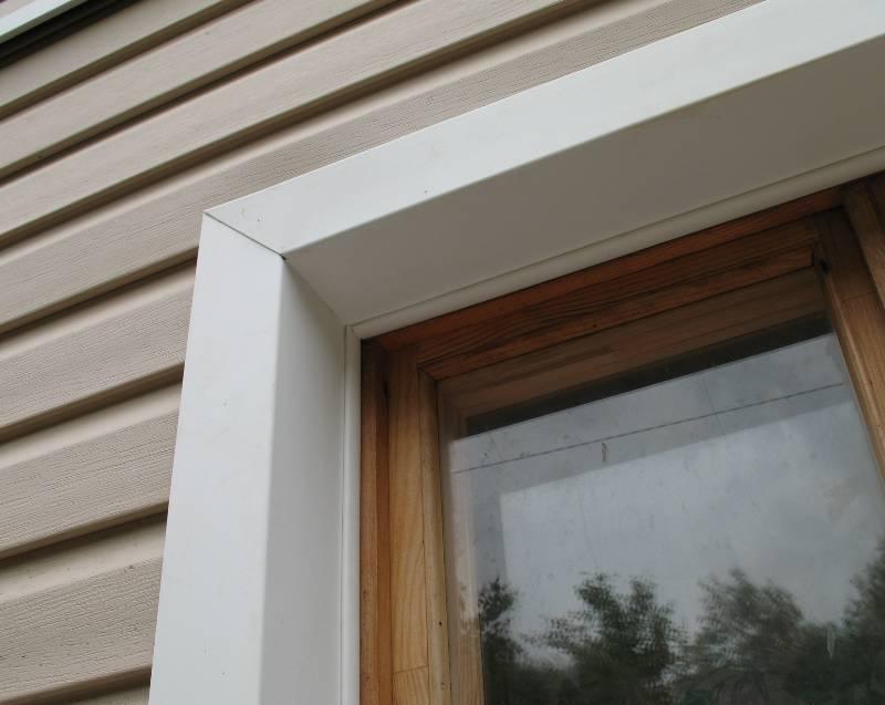 Околооконная планка для сайдинга: размеры, монтаж металлического околооконного профиля к окну - пошаговая инструкция