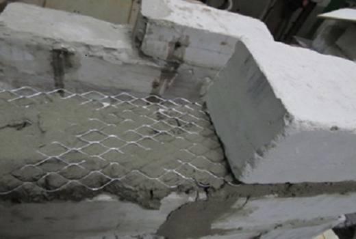 Армирование газобетонных блоков кладочной сеткой - капитальное строительство