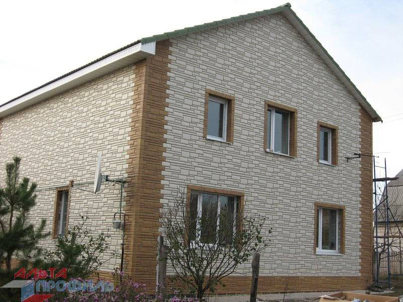 Фасадные панели для наружной отделки дома: разновидности и монтаж
