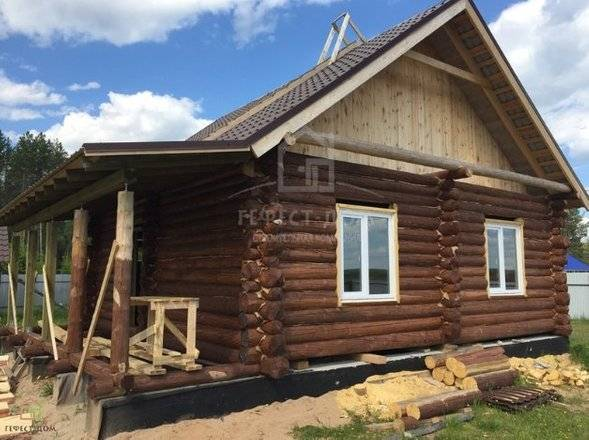 Строительство домов из бруса (118 фото): как построить своими руками, какой фундамент для брусовых конструкций лучше