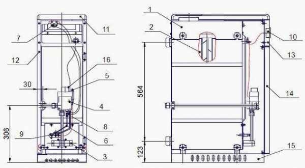 Основные неполадки, ремонт и регулировки котла сиберия аогв