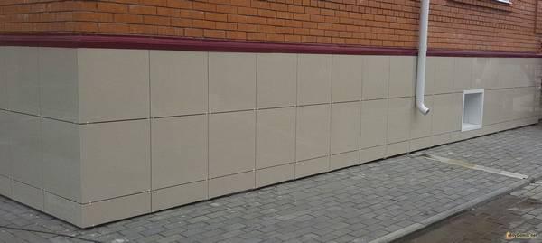 Монтаж вентилируемых фасадов из керамогранита: полное описание технологии