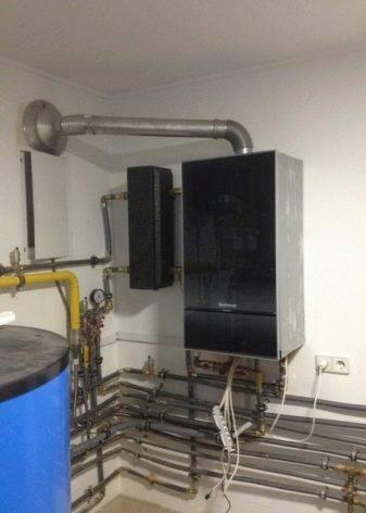 Достоинства и недостатки газового настенного котла buderus logamax u072 18k + отзывы владельцев