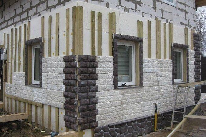 Как утеплить стены дома снаружи, чтобы не было конденсата: советы, материалы, фото, видео