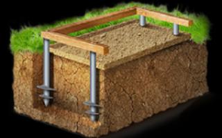 Когда винтовые сваи подходят для ремонта фундамента, цена и как происходит реконструкция