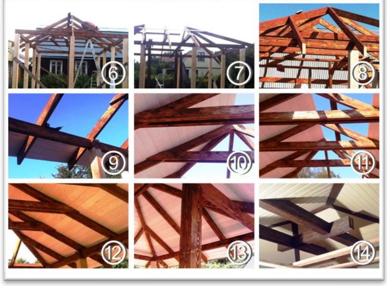 Как сделать четырехскатную крышу для беседки своими руками — фото, пошаговое видео