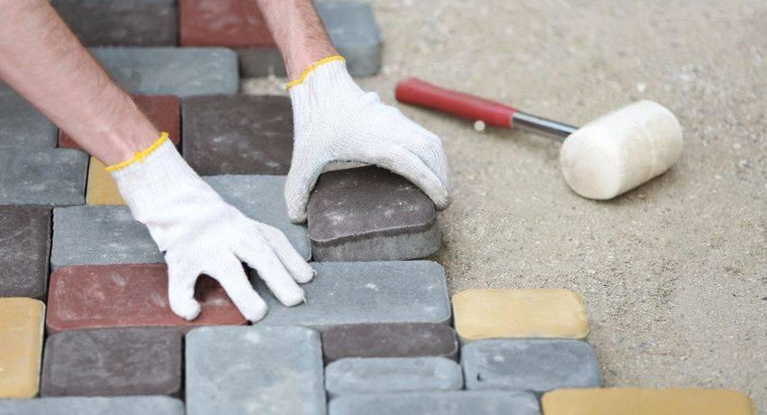 Как своими руками сделать отмостку из тротуарной плитки вокруг частного дома— инструкция