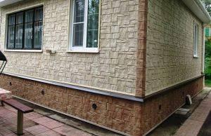 Отделка фасада частного дома панелями из поливинилхлорида: плюсы и минусы + технология монтажа